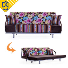 National cloth fabric folding sofa bed for Pakistan
