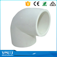 "YOUU New Innovative Products 2016 1/2"" Pipe Fittings PVC Elbow 90 Degree"