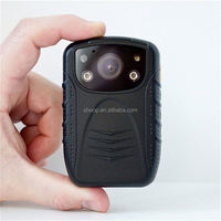 wireless law enforcement recorder body worn camera sd card portable dvr digital video recorder