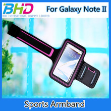Cell Phone Sport Arm Bag For Samsung Galaxy Note II Arm Bag