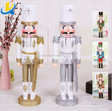 Creative decoration Christmas cartoon wooden nutcracker soldier