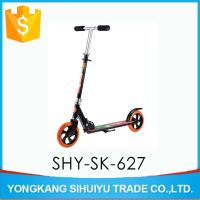 Best selling 200mm fashionable and foldabe full aluminum kick scooter for kick push scooter