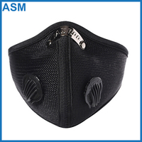Super Anti-Pollution Bike Motorcycle Cycling Racing Carbon Filter Half Face Neoprene Mask