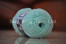 Polyester fdy 150D/48F twist yarn on plastic tube for sewing thread