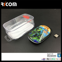 fancy mouse for computers,light up wireless mouse,custom wireless mouse--MW6012--Shenzhen Ricom