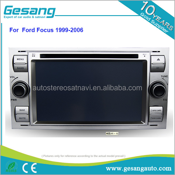 Car entertainment octa core android 6.0 car dvd player for old Ford focus 1999-2006 with gps