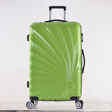 2017 trolley cases abs/pc material printed hard shell luggage