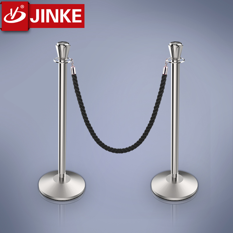 2015 New Jersey Barrier,Stainless Steel Chrome Plated Special Design Rope Stanchion