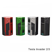 Original Teslacigs Invader 2/3 box mod Support 2 or 3pcs batteries Tesla 2/3 Mod