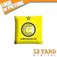 Sublimation Columbus Crew club logo home decorate microfiber bolster body pillow