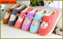 New Design fake wool Winter lady indoor slipper