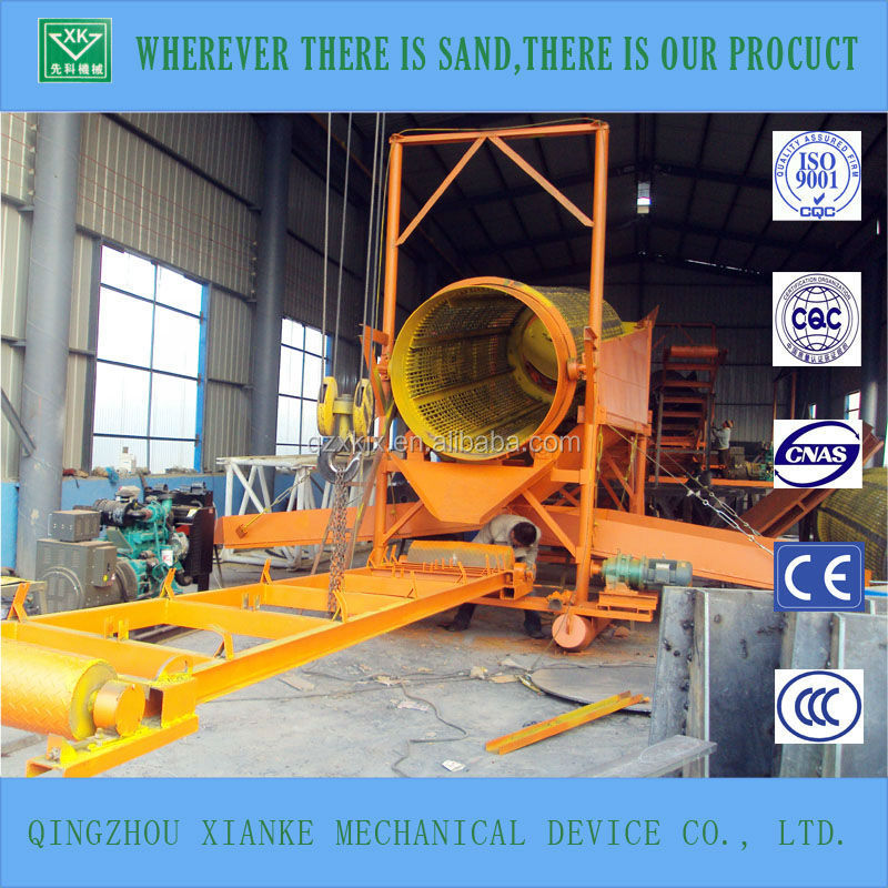 Dryland Alluvial Gold Mining Processing Equipment