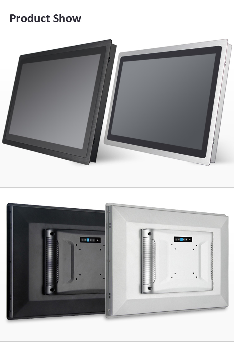 1000nits high brightness 19 inch widescreen explosion proof industrial outdoor touchscreen monitor