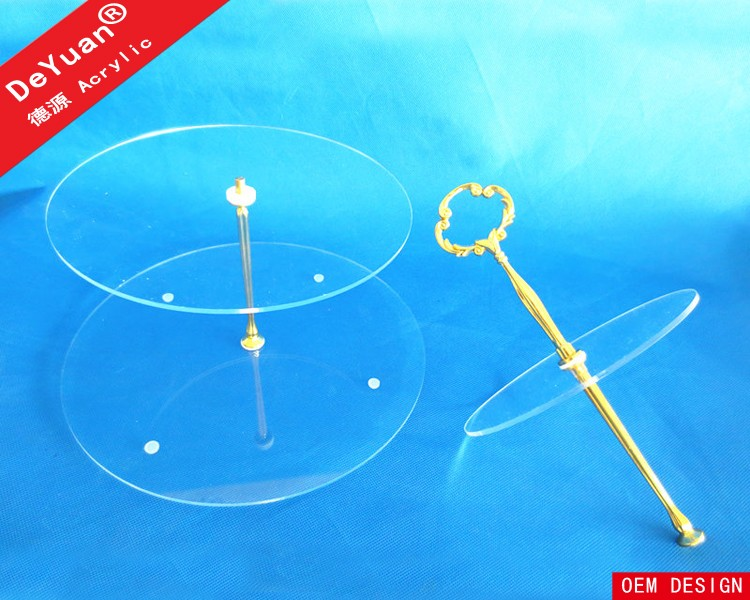 Decorative Cake Stands For Wedding / Cake Plates For Sale