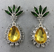 cast pineapple drop earring,party earring style