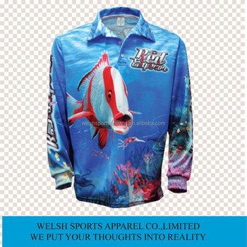 Custom sublimated uv protection men 39 s fishing shirts buy for Uv protection fishing shirts