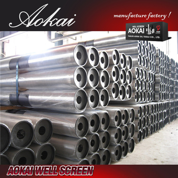 (manufacturer) large diameter johnson screen pipe SS304