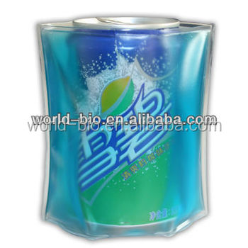 Gel Ice Pack PVC Can Cooler