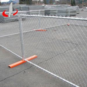 Electro-Galvanized Metal Fabric Secure Chain Link Fence