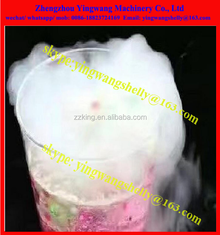 New market Liquid nitrogen ice cream maker