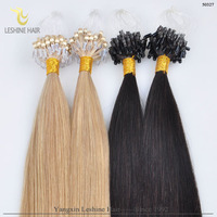 Escrow accepted top quality remy Russion Cheap Micro Ring Hair Extension