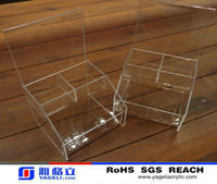 2014 hot sale acrylic box with cover