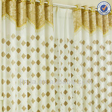 stock lastest model jacquard curtain fabric drapery