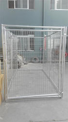 cheap New design unique galvanized dog kennels