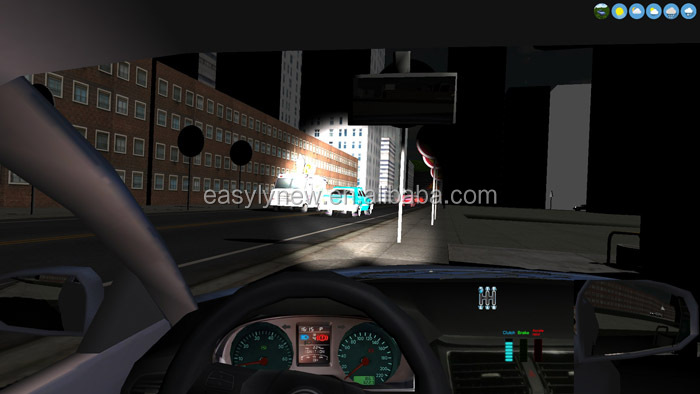 Motion car simulator