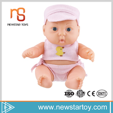 2017 easy sell items 7.5 inch vinyl baby doll parts for wholesale