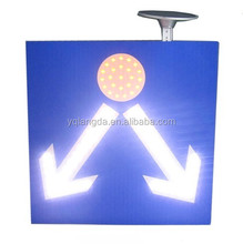 Super bright solar power led flashing traffic road safety sign/aluminum traffic signs and symbols