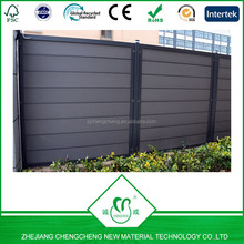 hot sales products outdoor fence&screen by wood plastic composite material