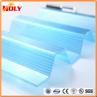 1 2 inch solid polycarbonate corrugated plastic sheet