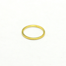 Colorful seamless brass jump rings