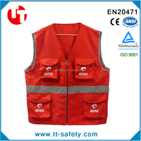 2015 Popular Reflective Safety Work Vest