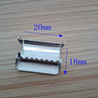 20MM Small Metal Webbing Adjuster With Teeth For Wholesale