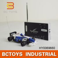 Hot Selling! 777-217 RC Mini F1 Racing car rc 3 speed gas car with lights HY0069660