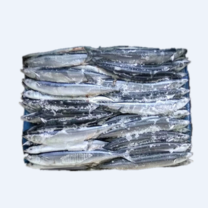 fresh frozen Pacific Saury for market for drying all size