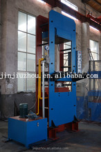 New design Single cylinder frame type rubber plate vulcanizing press machine and hydraulic curing press