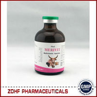 GMP veterinary medicine for cattle/camel nutritional 100ml Multivitamin Injection
