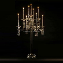 Hanging Crystals Tealight Holder Glass Globes Terrarium Wedding Candle Holder Candlestick Vase Home Hotel Bar Decoration