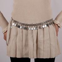 ZH1051A High Grade Fashion Lady Waist Chain Women Coins Belt