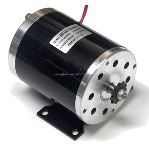 MY1020 500W 24V/36V/48V Electric Bicycle Brushed Motor High Speed DC Motor Brush Motor