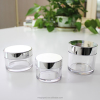 2016 new arrival empty wholesale cosmetic compact containers