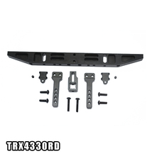 GPM ALUMINIUM REAR BUMPER WITH D-RINGS (CLASSIC) -14PC SET RC CAR UPGRADE PARTS FOR TRAXXAS TRX4 DEFENDER