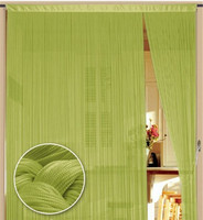 String window flat pvc strip curtain for christmas
