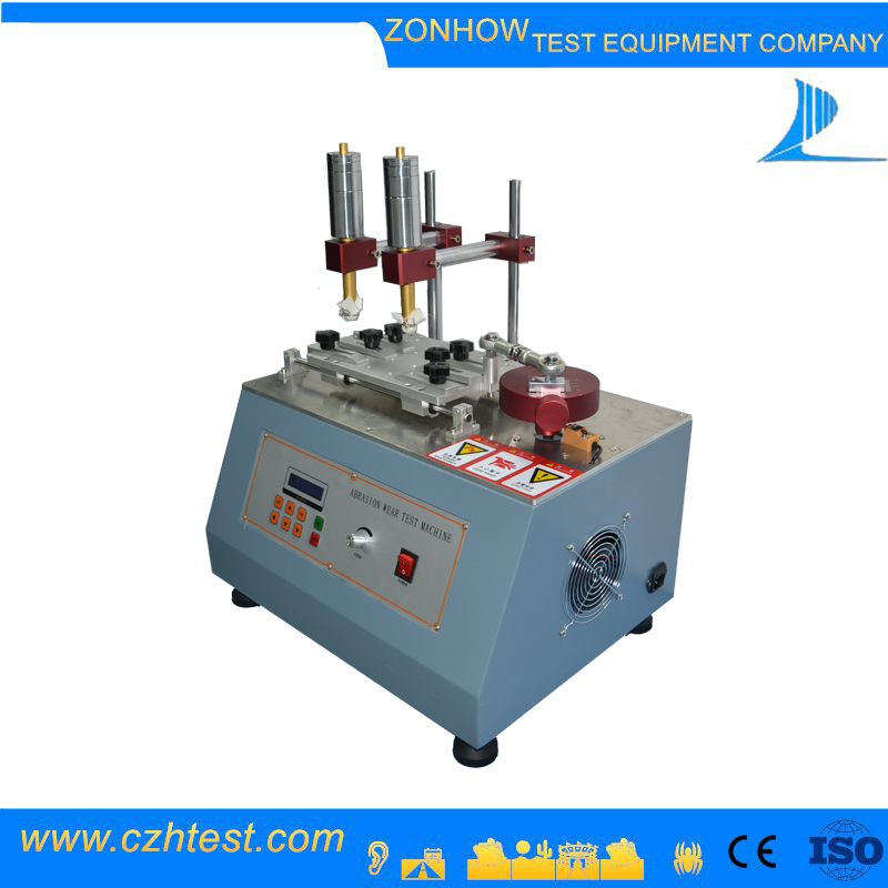 Top quality resistance tester price abrasion scrub tester machine
