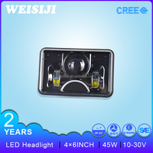 "New arrival Smart design 4""X6"" 45W hid volvo truck headlight"