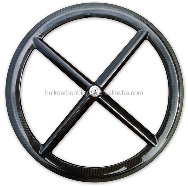 Toray T800 carbon road bike wheel 4 spokes wheel 21mm width bike wheel