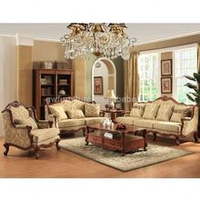 gold plated royal luxury living room leather sofa set